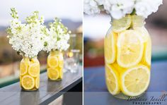 center pieces for an outdoor wedding! ahinger center pieces for an outdoor wedding! center pieces for an outdoor wedding! Lemon Centerpieces, Wedding Centerpieces, Wedding Decorations, Centerpiece Ideas, Simple Centerpieces, Room Decorations, Summer Wedding, Dream Wedding, Deco Champetre