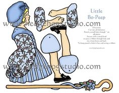 paper doll templates | printable jointed paper doll template | paper dolls