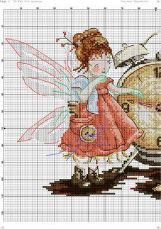 ru / Фото - 🦄Cross stitch little Fairies🐲 - Zanny Fantasy Cross Stitch, Cross Stitch Fairy, Cute Cross Stitch, Cross Stitching, Cross Stitch Embroidery, Cross Stitch Patterns, Stitch Doll, Brazilian Embroidery, Fabric Patterns