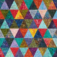 Create vibrant, graphic quilts using batik fabric. View a collection of free  quilt patterns that feature batiks.