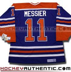 Mark Messier Edmonton Oilers CCM vintage jersey | Hockey Authentic