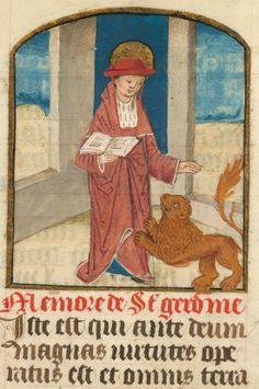 Cambrai BM ms 0130. (Illuminated manuscript close up).