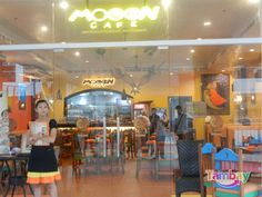 Moon Cafe at Centrio Ayala Mall, you could also visit their branch at Robinson's Mall Moon Cafe, Over The Moon, Mall, Relax, Restaurant, Drink, Cagayan De Oro, Beverage, Diner Restaurant