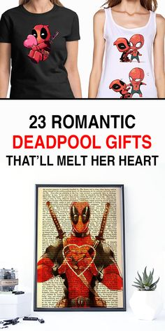 Deadpool Funny - Deadpool and Spiderman - Deadpool Humor - Deadpool and Harley Quinn - Deadpool Gifts  Do you have a special superhero ned in you life? Then nothing will show more how much you care than a romantic Deadpool gift.  Yes, Deadpool can be a little rude sometimes, but real fans know how loving he can be. Besides, we all get a little crazy when we're in love.