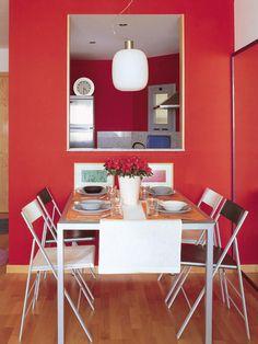 17 Kitchen serving hatch ideas - Little Piece Of Me One Wall Kitchen, Kitchen Room Design, Kitchen Layout, Kitchen Dining, Kitchen Decor, Decorating Kitchen, Space Kitchen, Finish Kitchen Cabinets, Wooden Kitchen Cabinets