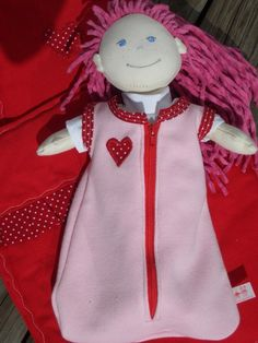 Puppen & Zubehör Puppenkleidung Puppenschlafsack für Haba Puppe 30 cm