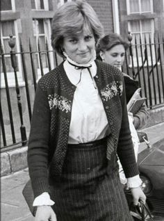Lady Diana Spencer before the engagement was announced