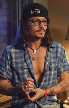 Johnny Depp- the most gorgeous man alive.  #mcm