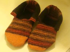 GENIUS IDEA!!! Digging out wool sweaters :-) wool sweater socks made from repurposed sweaters by earthluv