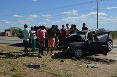 HORA DA VERDADE: URGENTE: Acidente grave deixa um homem morto e trê...