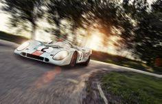 Gulf Porsche 917 Le Mans, Ferrari, Ferdinand Porsche, Vintage Porsche, Classic Sports Cars, Automotive Photography, My Dream Car, Dream Cars, Performance Cars