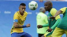 04.08.16 Brasil 0 x 0 África Do Sul !! #Neymar #Neymarjr #SeleçãoBrasileira #Olimpiadas #OlimpiadasRio2016 👏🇧🇷❤
