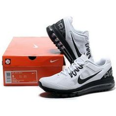 http://www.asneakers4u.com/ Cheap nike air max+2013 for mens shoes white black size40 44