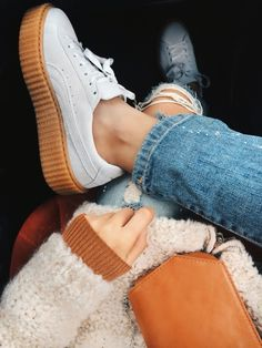 38163cf72773 Creepers from Fenty. Puma by Rihanna ONMYFEET Puma Creepers Outfit