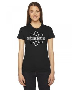 science 2 Ladies Fitted T-Shirt