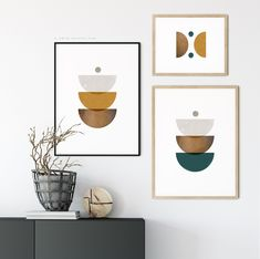 Excited to share the latest addition to my #etsy shop: DIY Wall Art Prints, Set of 3 Geometric, Mid Century Modern Wall Art Printable, Abstract Shapes Art, Modern Texture Prints, Instant Download #art #orange #brown #midcenturymodern #livingroom #livingroomideas Modern Gallery Wall, Modern Artwork, Modern Wall Art, Diy Wall Art, Canvas Wall Art, Wall Art Prints, Mid Century Wall Art, Orange Wall Art, Geometric Wall Art