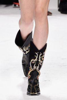 Fausto Puglisi Spring '16 Shoe Highlights: Milan Fashion Week [PHOTOS] | Footwear News