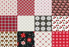 Iris Luckhaus  In addi­tion to her illus­tra­tion work, Iris Luckhaus makes some sim­ple and some­what classic-feeling patterns.