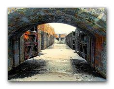Oldrobel's Fotoreise: A lock in winter