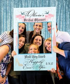 Bridal Shower Ideas - Cinderella Theme - Fairy Tale Bridal Shower Photo Prop  by CreativeUnionDesign
