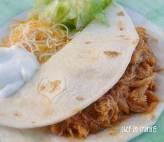 Chef in Training: Slow Cooker Salsa Chicken