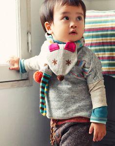 ベビー服専門サイト ficelle baby wear Bufanda japonesa