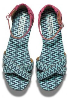 Geometric print #TOMS by #JonathanAdler in #mint http://rstyle.me/~1LvKT