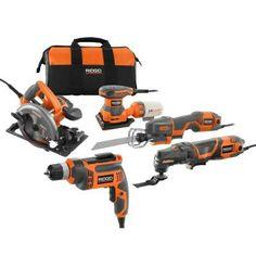 349.00 Power Tool Power Tool Kit: RID...