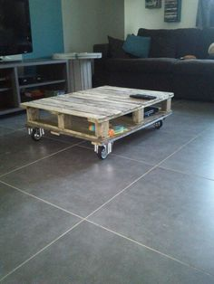 Pallet coffee table #PalletCoffeeTable