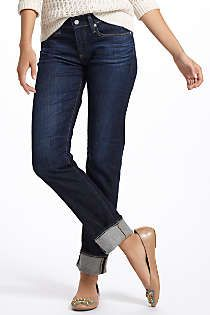 Rolled jeans