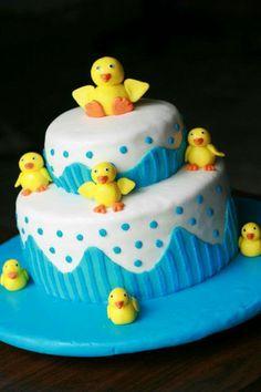Ducklings Cake