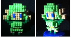 3D Saria from Zelda perler beads by DarkAshes27