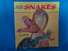 Vintage 1988 A Look Around Snakes book by Janet Lambert by TheVintageKeepers on Etsy