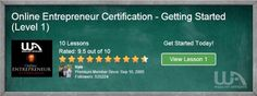 Wealthy Affiliate certification courses http://goodincomeaffiliate.com/getting-help-with-your-business