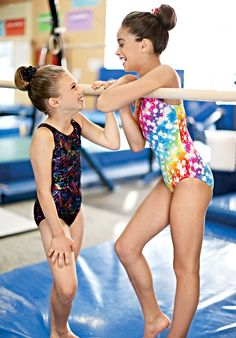 """Patterned Leotards in """"Evolution"""" and """"Stardust"""" by Balera"""