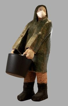 Art from Spain - Francisco Leiro Lois - 1957 Pontevedra. Wood Sculpture, Sculpting, Giza, Wood Carving, Decoupage, Medieval, Collage, Ceramics, Fashion