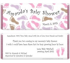Gifts That Say WOW: Free Printable Baby Boy Candy Wrapper ...