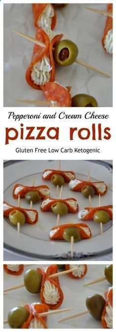 Pepperoni and Cream Cheese Pizza Rolls – Gluten Free, Low Carb from knowgluten.m… Pepperoni and Cream Cheese Pizza Rolls – Gluten Free, Low Carb from knowgluten. Gluten Free Appetizers, Low Carb Appetizers, Finger Food Appetizers, Appetizers For Party, Appetizer Recipes, Avacado Appetizers, Prociutto Appetizers, Party Snacks, Elegant Appetizers