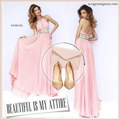 Sexy Prom Gown #7 by makingastatement on Polyvore featuring Sherri Hill, Gianvito Rossi, Rebecca Minkoff and sexypromgown