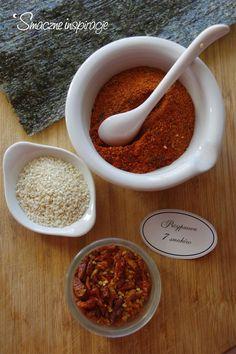 Domowa przyprawa siedmiu smaków  bez glutenu, gluten free (etykiety do wydruku)   Więcej na: http://www.smaczneinspiracje.pl/domowa-przyprawa-siedmiu-smakow-etykiety-wydruku/