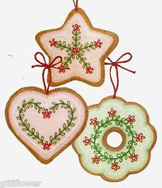 FELT-COOKIE-CHRISTMAS-TREE-ORNAMENTS-VINTAGE-SEWING-PATTERNS