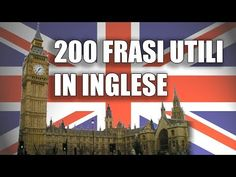 200 Frasi in Inglese Per Principianti con traduzione in italiano - YouTube English Lesson Plans, English Lessons, Learn English, Teaching Tips, English Language, To Youtube, Education, Learning, Whiteboard