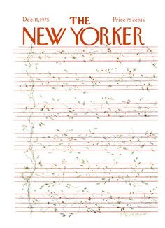 New Yorker Cover- Music.