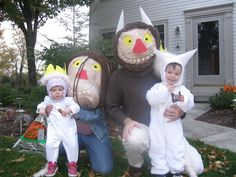 Wild Things Halloween masks