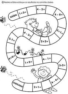 Atividades matemática - 1º e2º ano