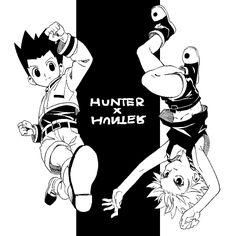 Gon and Killua - Hunter x Hunter