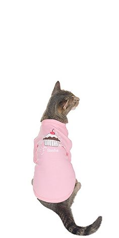 Cupcake Pajamas for Cats $19.99