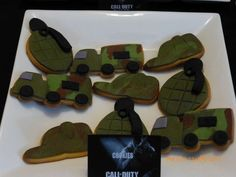 Call of Duty-Black ops Birthday Party Ideas | Photo 1 of 17 | Catch My Party