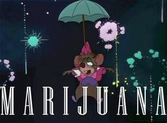 That mouse just can't keep off the Mary Jane.