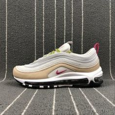 meet ee27c 3f684 Best Quality Nike Air Max 97 grey pink women s running shoes sneakers  921733-004